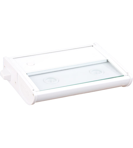 Maxim Lighting CounterMax MX-L120 2 Light Under Cabinet in White 87912WT photo