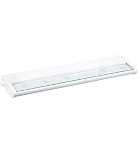 Maxim Lighting CounterMax MX-L120 6 Light Under Cabinet in White 87914WT photo