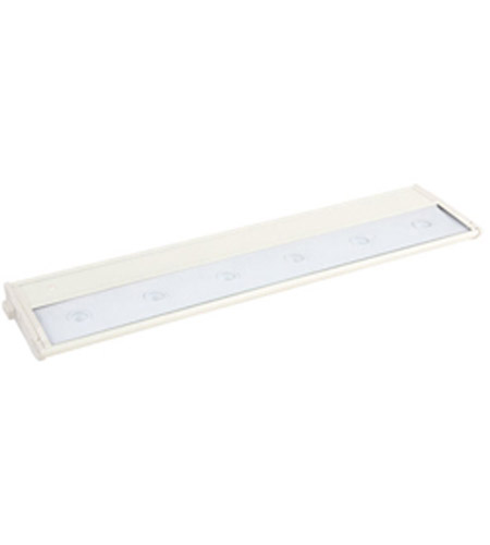 Maxim Lighting CounterMax MX-L120D 6 Light Under Cabinet in White 87964WT photo