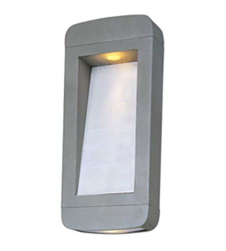 Maxim Lighting Optic LED 2 Light Outdoor Wall Mount in Platinum 88254PL photo
