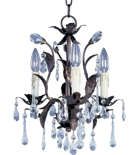 Maxim Lighting Grove 3 Light Mini Chandelier in Oil Rubbed Bronze 8832OI photo