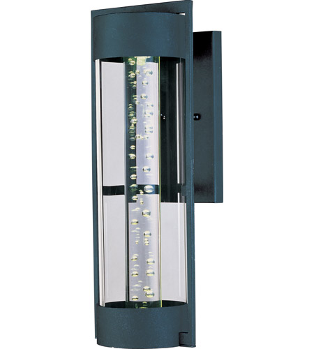 Maxim Lighting New Age LED 1 Light Outdoor Wall Mount in Texture Ebony 88352CLTE photo
