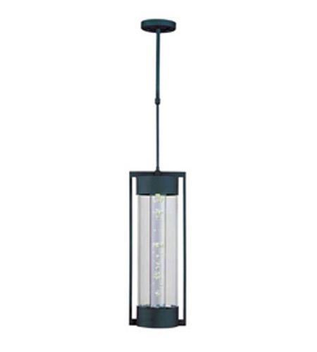Maxim Lighting New Age Led 1 Light Outdoor Hanging Lantern In Texture Ebony 88357clte