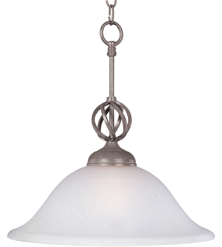Maxim Lighting Foothills Forge 1 Light Pendant in Pewter 8891PE photo