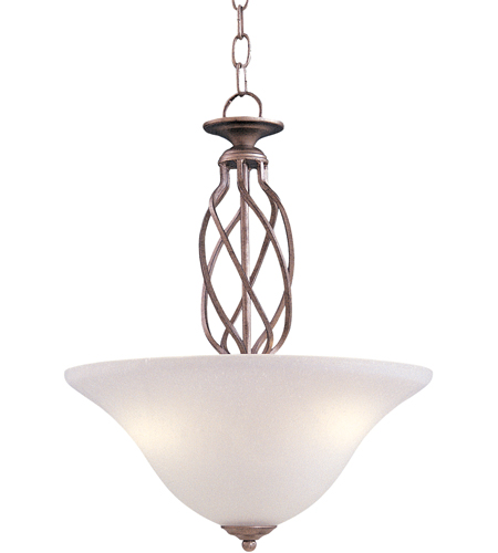 Maxim Lighting Foothills Forge 2 Light Pendant in Country Stone 8892CS photo