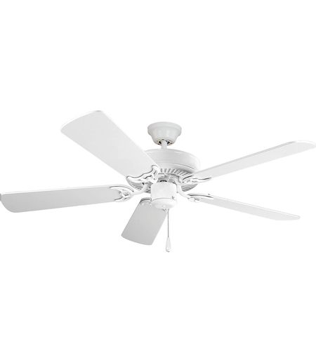 Maxim 89905MW Basic-Max 52 inch Matte White Indoor Ceiling Fan