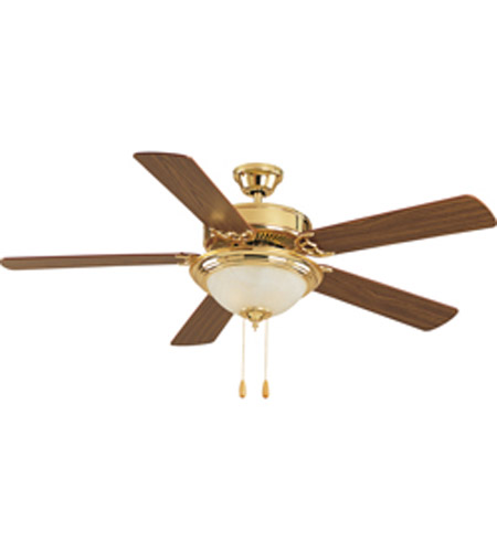 Maxim Lighting Basic Max Indoor Ceiling Fan in Polished