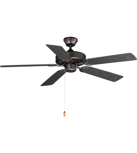 Maxim 89915oi basic max 52 inch oil rubbed bronze outdoor ceiling fan aloadofball Images