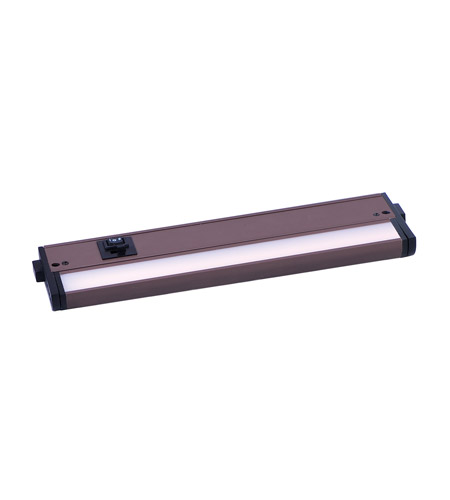 Maxim 89993bz Countermax Mx L 120 3k Led 12 Inch Bronze Under Cabinet Lighting