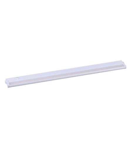 Delightful Maxim 89996WT CounterMax MX L 120 3K LED 30 Inch White Under Cabinet  Lighting