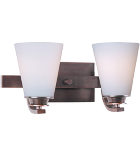 Maxim Lighting Conical 2 Light Bath Vanity in Oil Rubbed Bronze 9012SWOI photo