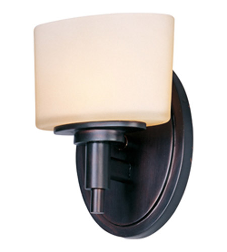 Maxim Lighting Lola 1 Light Wall Sconce in Oil Rubbed Bronze 9021DWOI photo