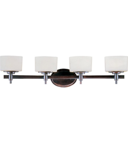 maxim lighting lola 4 light bath light in oil rubbed. Black Bedroom Furniture Sets. Home Design Ideas