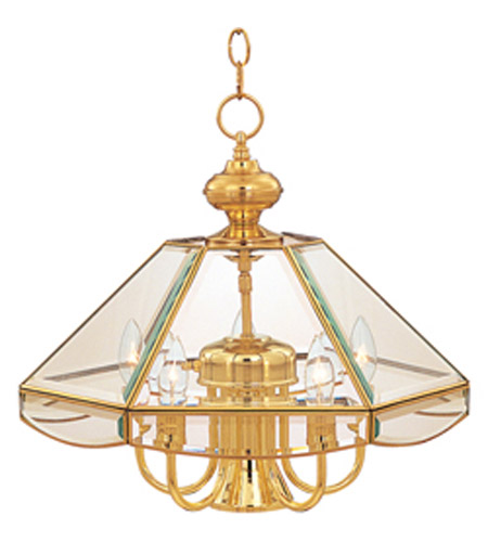 Maxim Lighting Bound Glass 6 Light Single Tier Chandelier in Polished Brass 90328CLPB photo