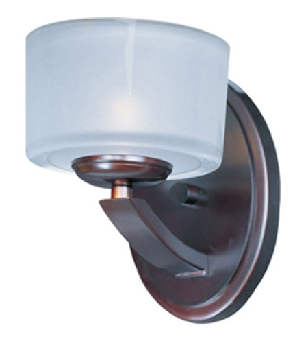Maxim Lighting Elle 1 Light Wall Sconce in Oil Rubbed Bronze 9041FTOI photo