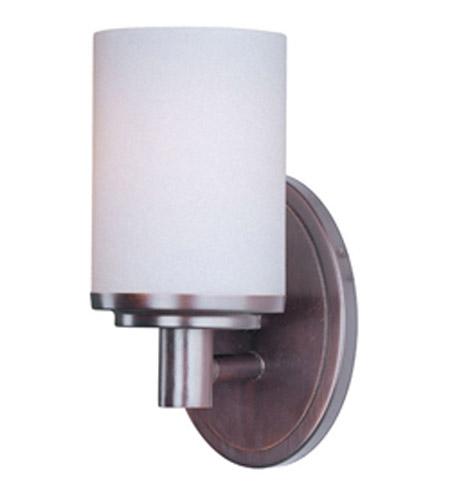 Maxim Lighting Cylinder 1 Light Bath Vanity in Oil Rubbed Bronze 9051SWOI photo