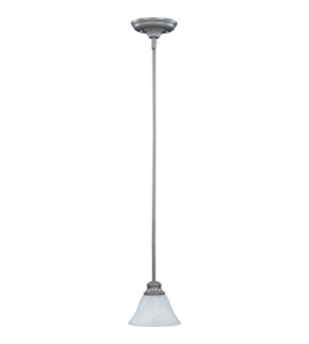 Maxim Lighting Pacific 1 Light Mini Pendant in Pewter 91068MRPE photo
