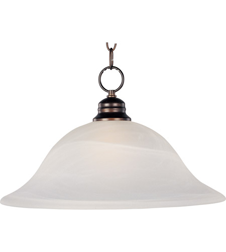 Maxim Lighting Signature 1 Light Pendant in Oil Rubbed Bronze 91076MROI photo