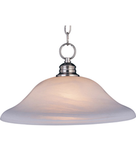 Maxim Lighting Signature 1 Light Pendant in Satin Nickel 91078MRSN photo
