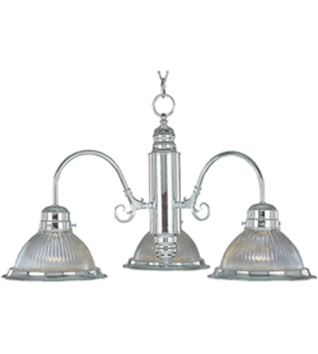 Maxim Lighting Builder Basics 3 Light Mini Chandelier in Satin Nickel 91193CLSN photo
