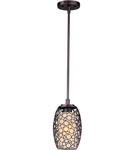 Maxim 91340DWUB Meridian 1 Light 7 inch Umber Bronze Mini Pendant Ceiling Light photo
