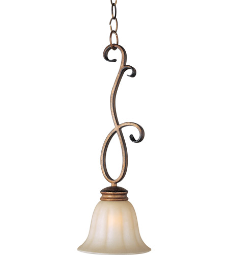 Maxim 92240WSPD Fremont 1 Light 7 inch Platinum Dusk Mini Pendant Ceiling Light photo