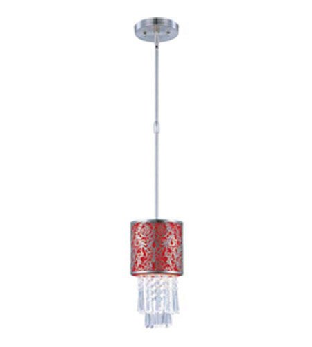 Maxim Lighting Rapture 1 Light Mini Pendant in Satin Nickel 92293RDSN photo