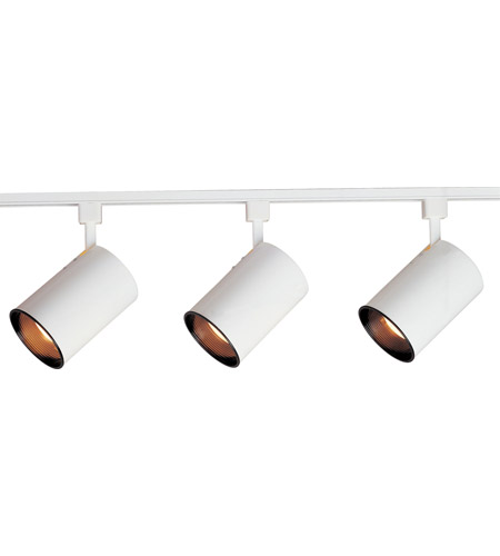 Maxim Lighting Track 3 Light Track in White 92315WT photo