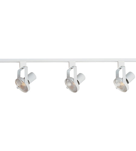 Maxim Lighting Track 3 Light Track in White 92320WT photo