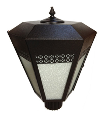 Maxim Lighting Signature Outdoor Pole/Post Lantern in Platinum 99946PL photo