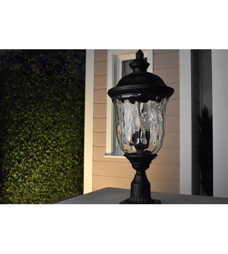 Maxim 56525MOOB Carriage House LED E26 LED 13 inch Oriental Bronze Outdoor Wall Mount alternative photo thumbnail