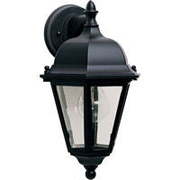 Maxim Lighting Westlake 1 Light Outdoor Wall Mount in Black 1000BK photo thumbnail