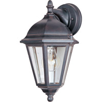 Maxim Lighting Westlake 1 Light Outdoor Wall Mount in Empire Bronze 1000EB photo thumbnail