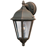 Maxim Lighting Westlake 1 Light Outdoor Wall Mount in Rust Patina 1000RP