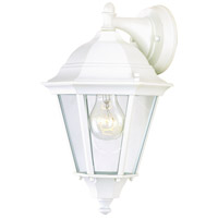 Westlake 1 Light 15 inch White Outdoor Wall Mount