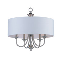 Maxim 10015WLSN Bongo 5 Light 22 inch Satin Nickel Multi-Light Pendant Ceiling Light