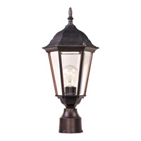 Maxim Lighting Westlake 1 Light Outdoor Pole/Post Lantern in Empire Bronze 1001EB