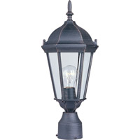 Maxim Lighting Westlake 1 Light Outdoor Pole/Post Lantern in Rust Patina 1001RP