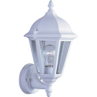 Maxim Lighting Westlake 1 Light Outdoor Wall Mount in White 1002WT