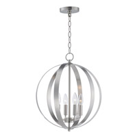 Provident 4 Light 16 inch Satin Nickel Single Pendant Ceiling Light
