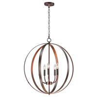 Maxim 10032OI Provident 5 Light 24 inch Oil Rubbed Bronze Single Pendant Ceiling Light