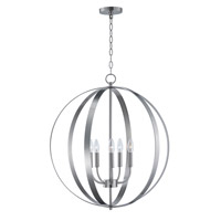 Maxim 10032SN Provident 5 Light 24 inch Satin Nickel Single Pendant Ceiling Light