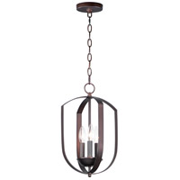 Maxim 10033OI Provident 3 Light 10 inch Oil Rubbed Bronze Chandelier Ceiling Light