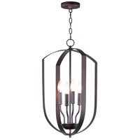 Maxim 10034OI Provident 4 Light 15 inch Oil Rubbed Bronze Chandelier Ceiling Light