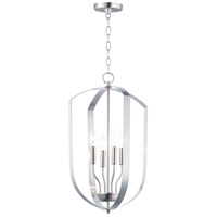 Maxim 10034SN Provident 4 Light 15 inch Satin Nickel Chandelier Ceiling Light