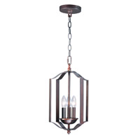 Maxim 10035OI Provident 3 Light 10 inch Oil Rubbed Bronze Single Pendant Ceiling Light