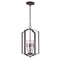 Provident 4 Light 15 inch Oil Rubbed Bronze Single Pendant Ceiling Light