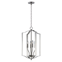Provident 4 Light 15 inch Satin Nickel Single Pendant Ceiling Light