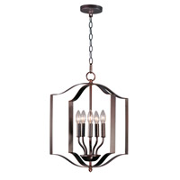 Maxim 10037OI Provident 5 Light 18 inch Oil Rubbed Bronze Single Pendant Ceiling Light