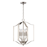 Provident 5 Light 18 inch Satin Nickel Single Pendant Ceiling Light
